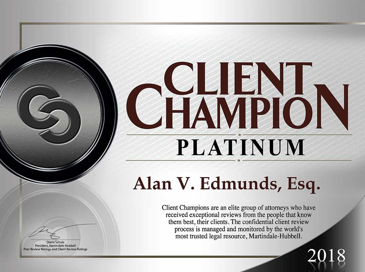 Alan Edmunds Client Champion